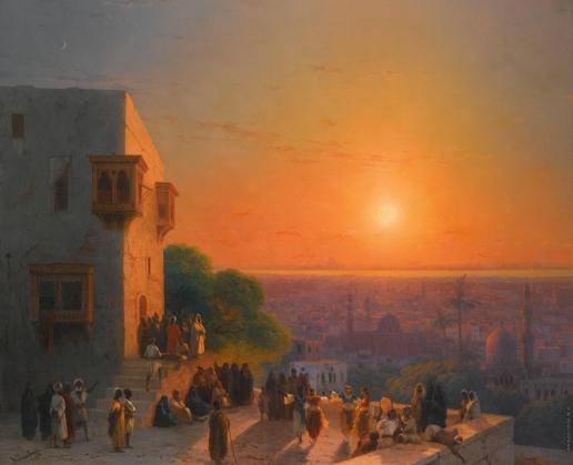 Айвазовский И. К. Вечер в Каире