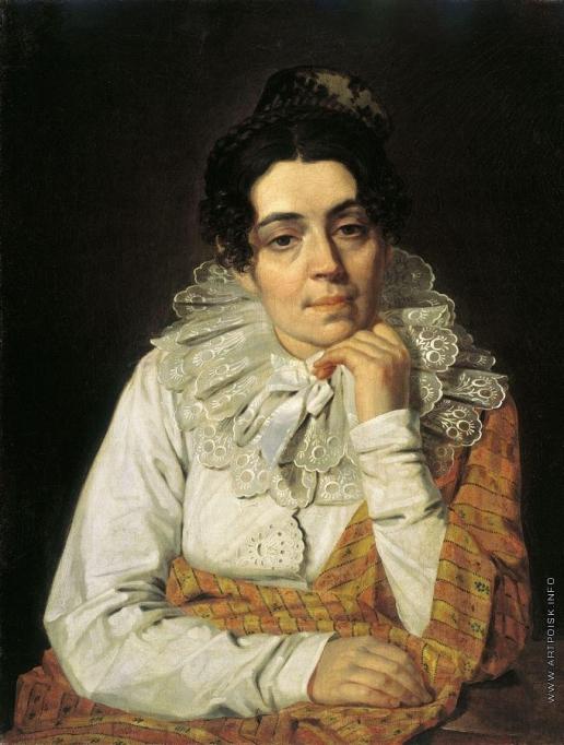 Венецианов А. Г. Портрет М.А.Венециановой