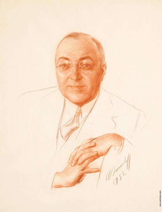 Яковлев А. Е. Портрет Бориса Бахметьева