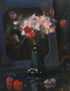 Захаров Ф. И. Натюрморт с душистым горошком