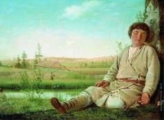 Венецианов А. Г. Спящий пастушок