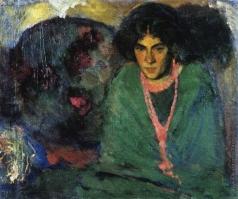 Анисфельд Б. И. Дама в зеленом