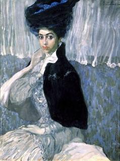 Бобровский Г. М. Портрет Самойловой (Портрет госпожи Z)