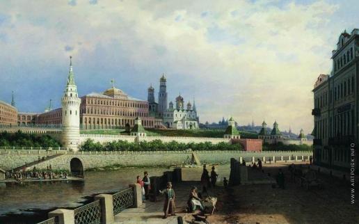 Верещагин П. П. Вид на Кремль