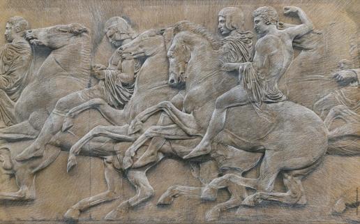 Гурьянов Г. К. Римский барельеф