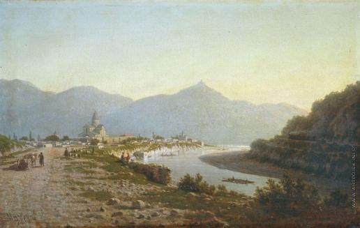 Верещагин П. П. Мцхета. Долина Куры