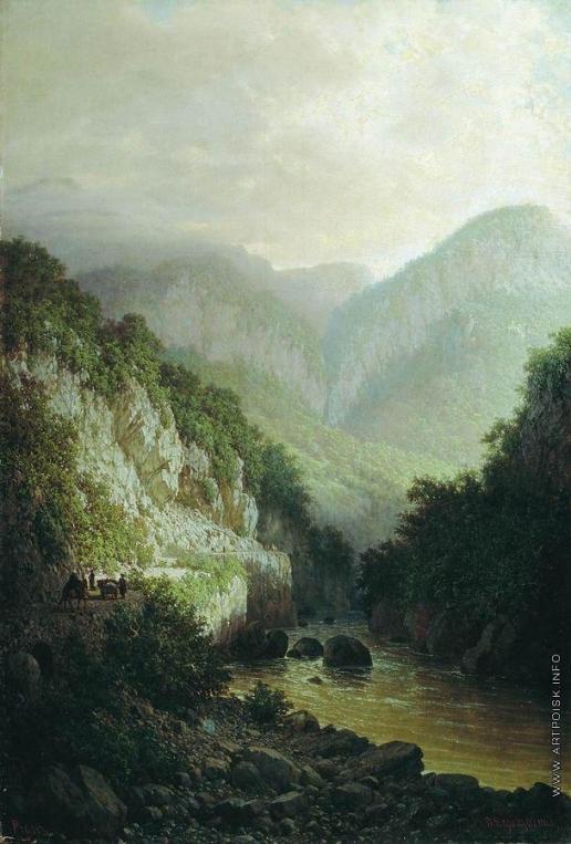 Верещагин П. П. На Кавказе
