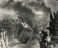 Халдей Е. А. Водружение Знамени Победы над Рейхстагом
