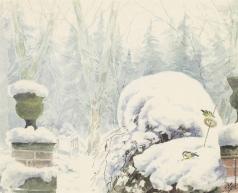 Романова О. А. Зимний пейзаж