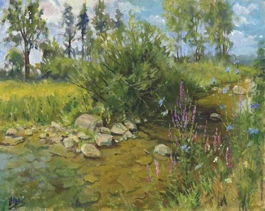 Романова О. А. Весенний пейзаж
