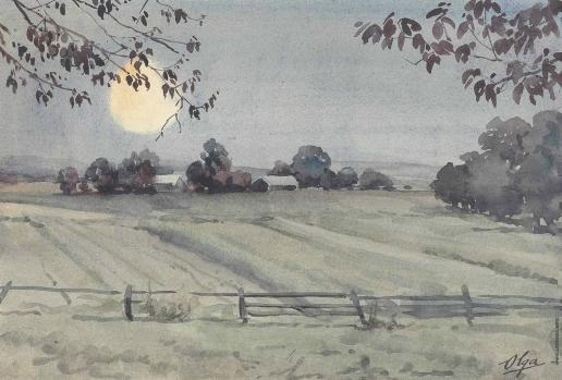 Романова О. А. Осенний пейзаж