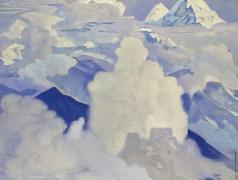 Рерих Н. К. Белый и небесный. Из серии «Его страна»