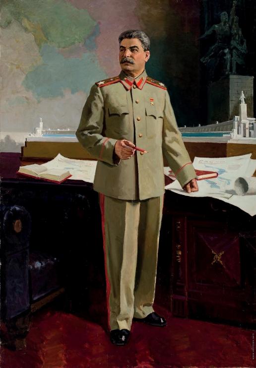 Бубнов А. П. Утверждение Сталиным модели павильона СССР для Всемирной выставки в Париже в 1937 году