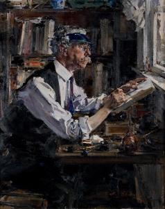 Фешин Н. И. Портрет гравера У.Д. Уоттса
