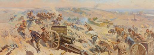 Греков М. Б. Эпизод гражданской войны на Украине