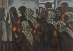 Иванов В. И. Похороны