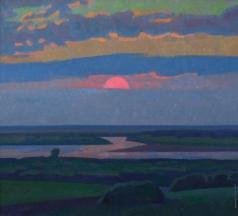 Иванов В. И. Восход солнца