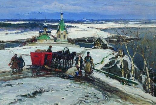 Вещилов К. А. Возок XVII века