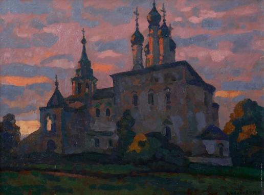 Иванов В. И. Церковь Воскресения в селе Исады