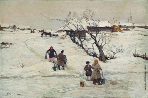 Вещилов К. А. Зимний пейзаж
