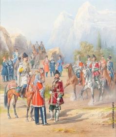 Балашов П. И. Офицеры и нижние чины Собственного Его Императорского Величества Конвоя