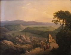 Чернецов Н. Г. Вид Назарета в Галилее