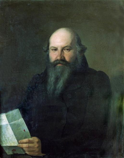 Зарянко С. К. Портрет О.М. Сенькова
