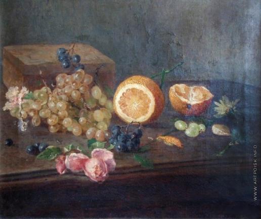 Гирв А. А. Натюрморт с фруктами