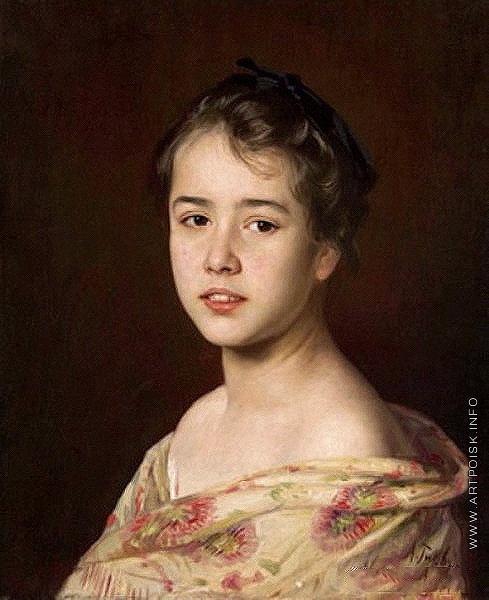 Гирв А. А. Портрет молодой дамы