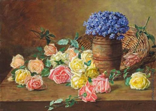 Гирв А. А. Розы и фиалки