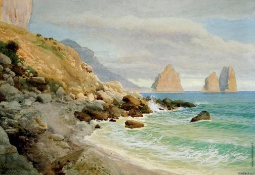 Бенуа А. Н. Море