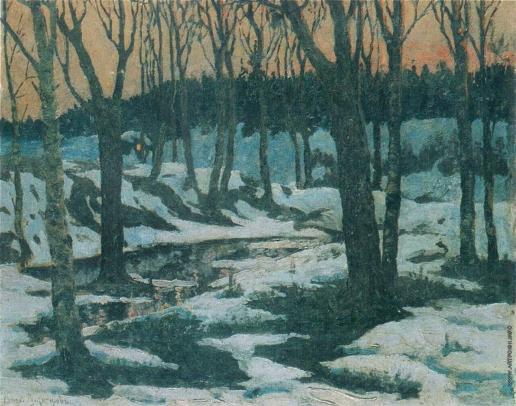 Васнецов А. М. Избушка в лесу