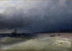 Айвазовский И. К. Высадка на берег