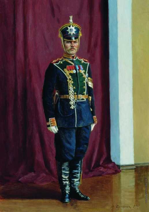 Бунин Н. Н. Фельдфебель лейб-гвардии Егерского полка Иустин Иванович в парадной форме