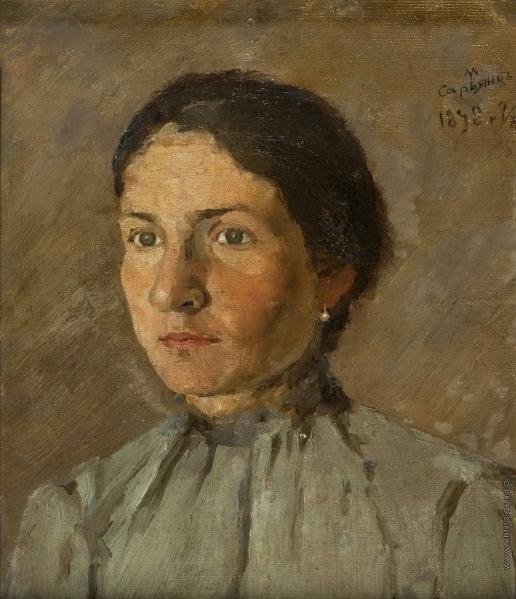 Сарьян М. С. Портрет сестры художника Тагуи