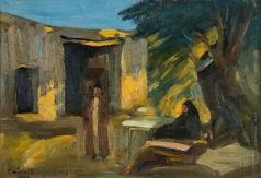 Сарьян М. С. Вечер в саду