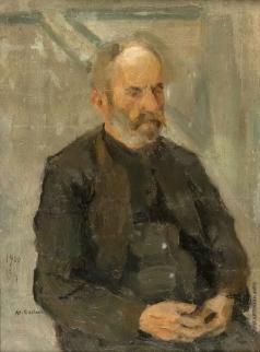 Сарьян М. С. Портрет дяди худжника А. Чилингиряна
