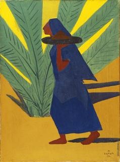 Сарьян М. С. Идущая женщина