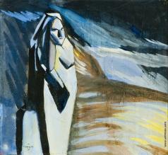 Сарьян М. С. Иллюстрация к книге В. Эльснера «Пурпур кефиры»