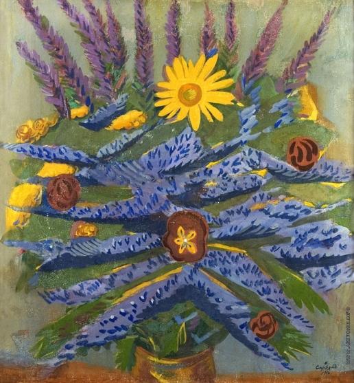 Сарьян М. С. Цветы. Натюрморт