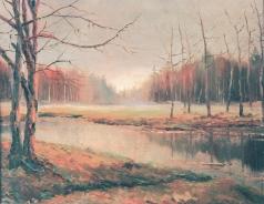 Берггольц Р. А. Осенний пейзаж