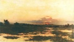 Волков Е. Е. Закат на болоте