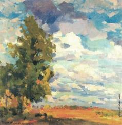 Коровин К. А. Летний пейзаж