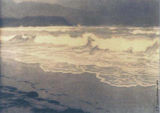 Билибин И. Я. Морской пейзаж