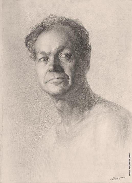Данциг М. В. Мужской портрет
