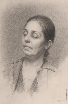 Данциг М. В. Женский портрет