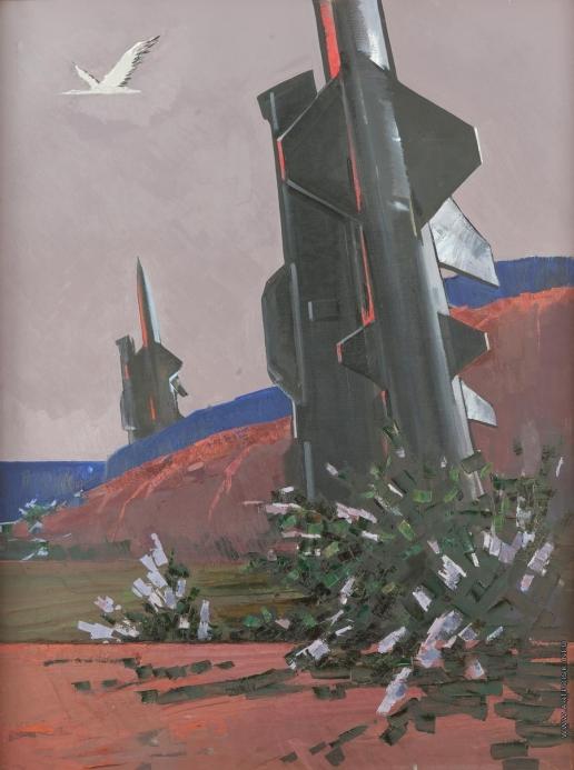 Данциг М. В. Триптих «На страже мира». Правая часть