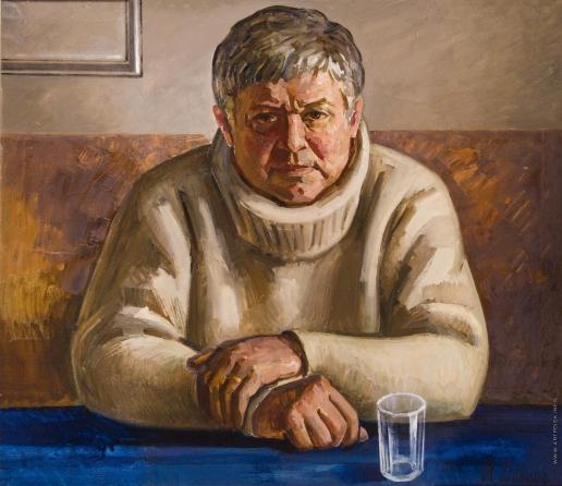 Данциг М. В. Портрет художника Юрия Тышкевича