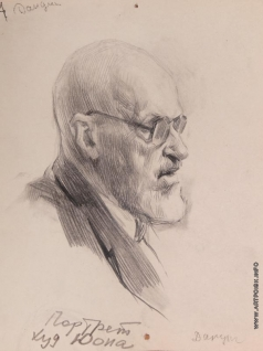 Данциг М. В. Портрет художника Юона