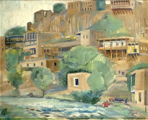 Сарьян М. С. Берега Зангу у Еревана